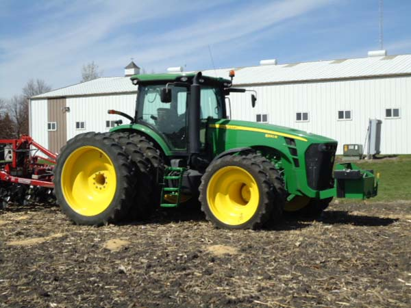 JD 8320R 380-90R54 and 320-80R42 007-