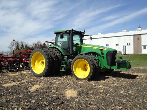 JD 8320R 380-90R54 and 320-80R42 013-